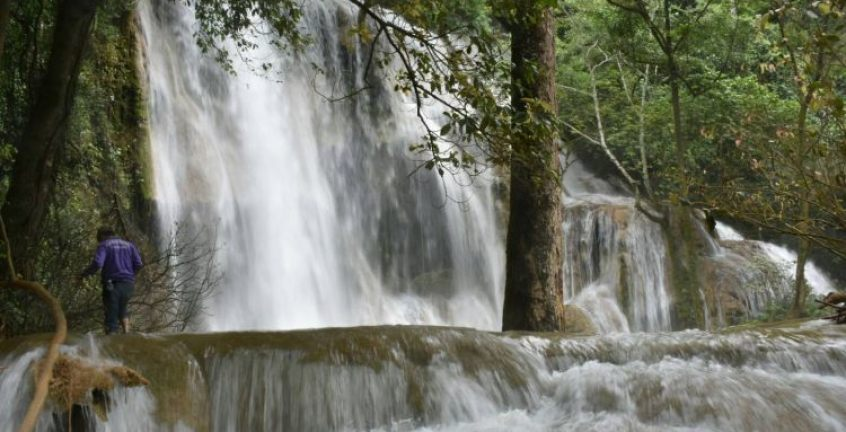 7 stories of waterfall at Talae Fall