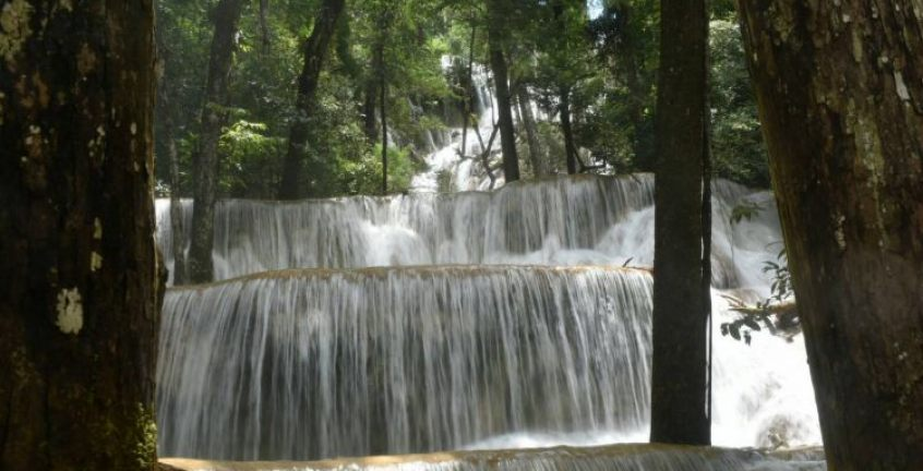 The first level of Waterfall